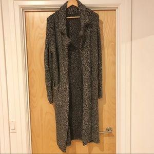 Zara Knit Long Sweater Cardigan